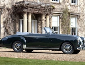 A royal Lagonda – Ex- HRH The Prince Philip, Duke of Edinburgh 1954 3-litre Aston Martin Lagonda drophead coupé to be auctioned, 20th April 2016, £350,000 to £400,000, H&H Classics, Imperial War Museum Duxford