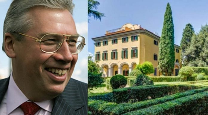 An Oligarch's Lair – £6.5m for Villa il Poderino, Via del Giuggiolo and Via Bolognese, City of Florence, 2-4 Florence, Tuscany, Italy through agents Aste Giudiziarie – Closing date of the 19th November for sealed bids – Tuscan villa previously owned by Russian oligarch turned fugitive offered in bankruptcy sale; once valued at £16.3 million, bids of £6.5 million are now sought