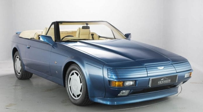 An Angular Aston – 1989 Aston Martin Volante Zagato V8 – Hexagon Classics – £350,000 ($426,000 or €387,000)