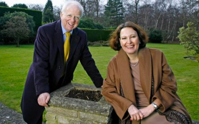 Wally of the Week – Racist bigot Conservative turned independent Member of Parliament Anne Marie Morris pictured with her partner and election agent Roger Kendrick
