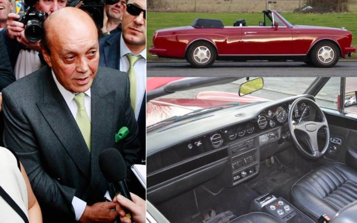 Bentley or Bail? – 1986 Bentley Continental convertible originally owned by notorious fraudster Asil Nadir to be auctioned – Ex Asil Nadir 1986 Bentley Continental convertible with coachwork by Mulliner Park Ward – For sale for £55,000 to £60,000 ($76,000 to $83,000, €62,000 to €68,000 or درهم278,000 to درهم304,000) at the Bonhams Goodwood Members' Meeting sale, Chichester on 18th March 2018