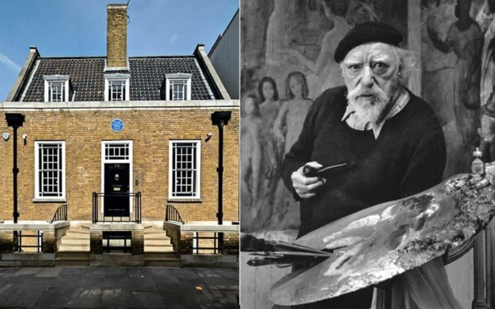 A Blank Canvas – 28 Mallord Street, Chelsea, London, SW3 6DU – To rent for £9,500 per week ($11,800, €11,100 or درهم43,500 per week) through Aylesford – Built for artist Augustus John (1878 – 1961) and later home to Dame Gracie Fields OBE (1898 – 1979)