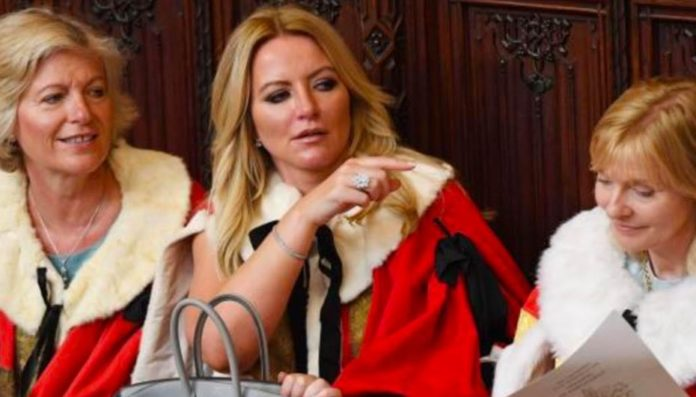 """Barring Bra – Baroness Mone needs to be thrown out of Parliament – """"La la land dweller"""" Baroness Mone should be turfed out of the House of Lords given her lackadaisical attitude to turning up."""