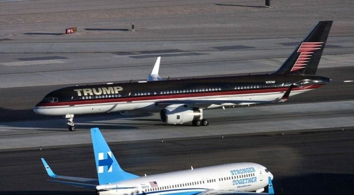 Beating Brashness – Hillary Clinton usurps Donald Trump in her use of a comparably modest campaign plane