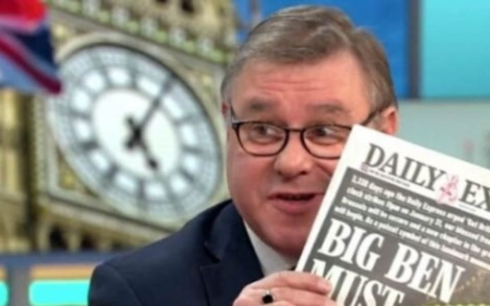 Bong Off – Matthew Steeples slams the Bong for Brexit campaign – Matthew Steeples slams the campaign to raise £500,000 to make Big Ben 'bong' to market Brexit as ridiculous and irresponsible.