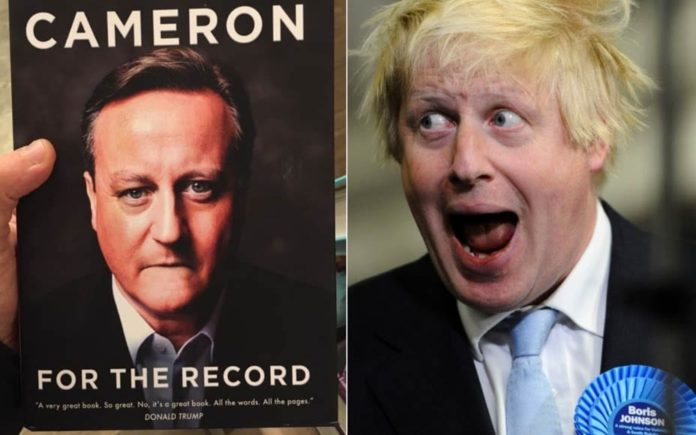 "All That's Certain About Boris and Dave – Death, taxes and Boris Johnson find themselves united whilst the dust jacket of David Cameron's 'For The Record' gets pilloried – There's nothing certain in life other than death and taxes"" becomes There's nothing certain in life other than death, taxes and Boris Johnson losing votes."""