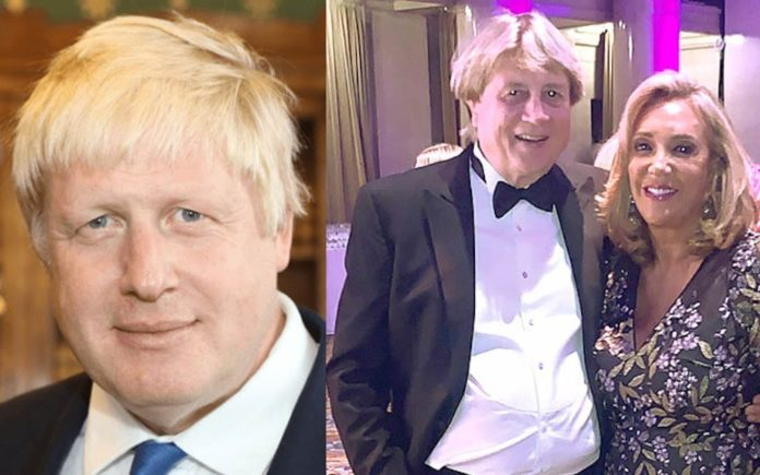 BoJo's Body Double – Boris Johnson lookalike Peter Cervinka – American lookalike of Boris Johnson emerges; it turns out he's very rich and the beau of the socialite Denise Rich.