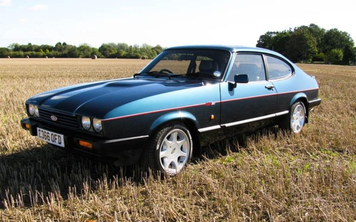 A Costly Capri – 'Refinished' 1987 Ford Capri 280 Brooklands for sale for a sum that will wow; it is to be offered by Silverstone Auctions at their Silverstone sale on 29th to 30th July 2017 – Estimate of £35,000 to £45,000 ($44,800 to $57,600, €40,100 to €51,500 or درهم164,700 to درهم211,700)