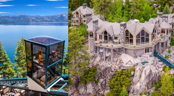 A Funicular Feat – Crystal Pointe, 300 State Route 28, Crystal Bay, Washoe, Nevada, NV 89402, United States of America – For sale for £59.1 million ($75 million, €66.1 million or درهم275.4 million) through Chase International – Owned and built by Stuart and Geri Yount