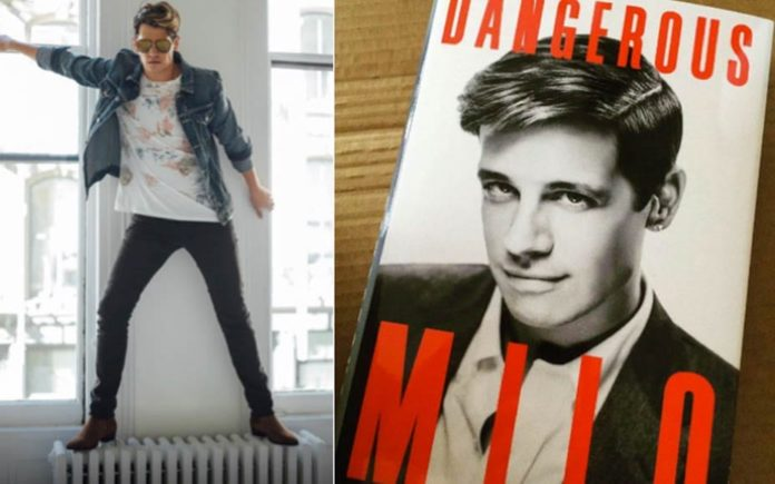 Moron of the Moment – Milo Yiannopoulos – 'Trumpsexual' paedophile apologist Milo Yiannopoulos stands on a radiator as Simon & Schuster reject his £7.6 million lawsuit over his book Dangerous.