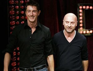 Domenico Dolce and Stefano Gabbana FI 1