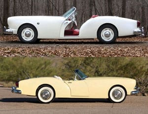 A Kaiser double - Pair of 1954 Kaiser-Darrin roadsters to be auctioned by RM Auctions in Arizona and Paris in January and February 2016