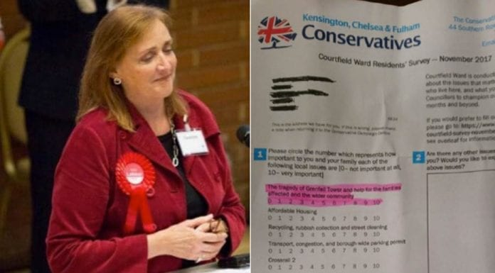 Foot in Mouth in K&C – Emma Dent Coad and KC&F Conservatives – Both Labour and the Tories get it very wrong in Kensington and disgrace themselves with their truly offensive conduct.