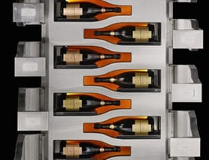 A £100k fridge – Sotheby's to sell 'Vertical Limit' Veuve Clicquot champagne magnum refrigerator on 21st October 2015