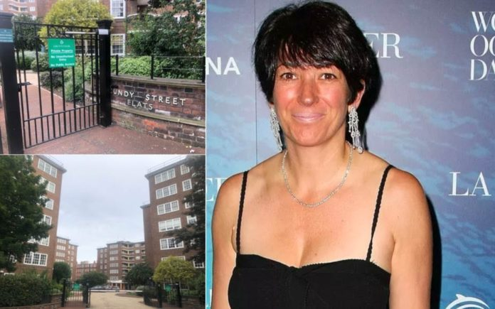 Where's Ghislaine? Where's Jeffrey Epstein associate Ghislaine Maxwell – Could Ghislaine Maxwell be living it up in the Cundy Street Flats in Belgravia, London, SW1 in the wake of the 'suiciding' of the billionaire paedophile Jeffrey Epstein?