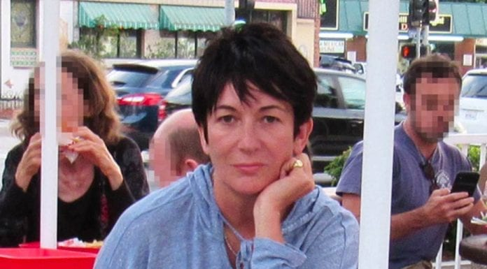 Maxwell Moves On – Murky madam Ghislaine Maxwell spotted munching on a burger at an In-N-Out Burger fast food restaurant whilst reading a book about deaths linked to the CIA.