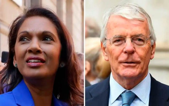 The John & Gina Show – Sir John Major teams up with Gina Miller – Gina Miller creates a double act by pairing up with former Prime Minister Sir John Major to stop Boris Johnson proroguing Parliament.