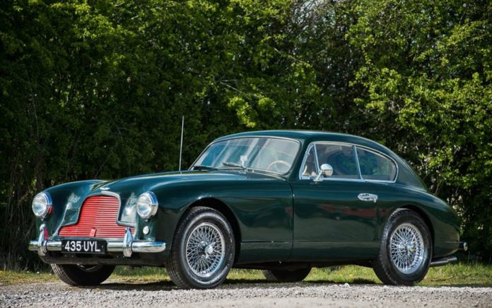 A Glory in Green – 1954 Aston Martin DB2/4 – Silverstone Auctions will sell the car with an estimate of £165,000 to £185,000 ($214,000 to $240,000, €195,000 to €218,000 or درهم787,000 to درهم882,000) at Silverstone Circuit in Northamptonshire on 13th May 2017