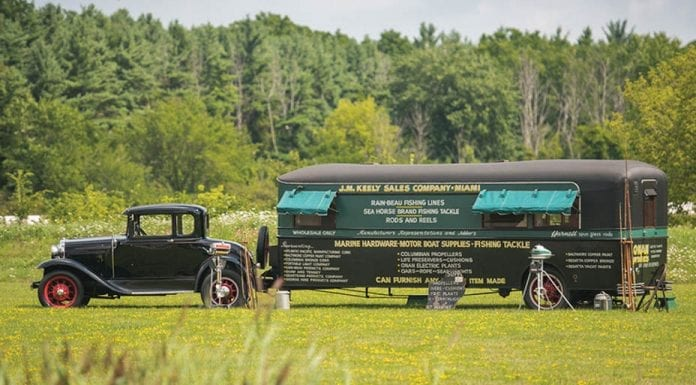 Gone fishin' – 1931 Ford Model A DeLuxe coupé with custom-built house trailer – £77,000 to £116,000 ($100,000 to $150,000 or €89,000 to €133,000) – RM Sotheby's