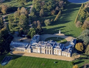 A £65 million mansion – Hackwood Park, Alton, Basingstoke, Hampshire, RG25 2JZ – £65 million ($94.1 million or €83.5 million)
