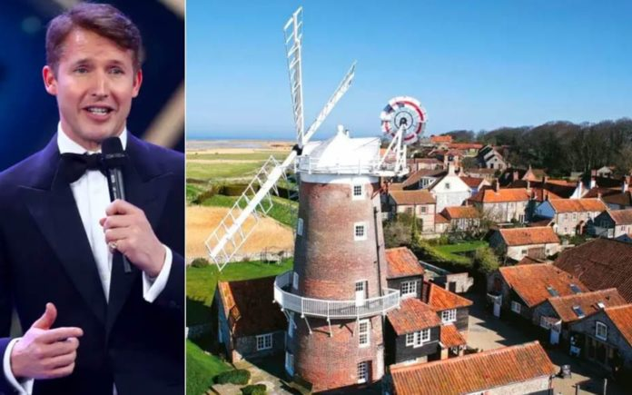 Beautiful Butlins – £2.9 million childhood home of singer James Blunt Cley Windmill, The Quay, Cley-next-the-Sea, Holt, Norfolk, NR25 7RP, United Kingdom – For sale through Strutt & Parker for £2.9 million ($3.5 million, €3.2 million or درهم13 million) as a whole or £2.3 million ($2.8 million, €2.5 million or درهم10.3 million) for just the windmill alone.