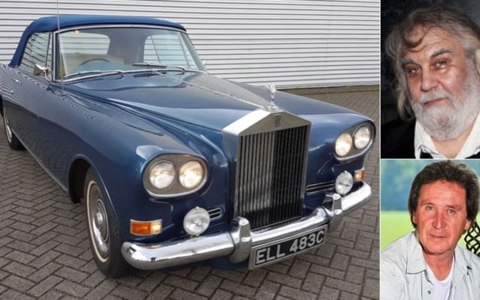 A Musical Roller – 1965 Rolls-Royce Silver Cloud III drophead coupé – Ex drummer Kenney Jones and ex electronic musician Vangelis – To be sold by H&H Classics at their 29th March Imperial War Museum Duxford sale in Cambridgeshire – Estimate £150,000 to £180,000 ($186,000 to $224,000, €173,000 to €208,000 or درهم684,000 to درهم821,000)