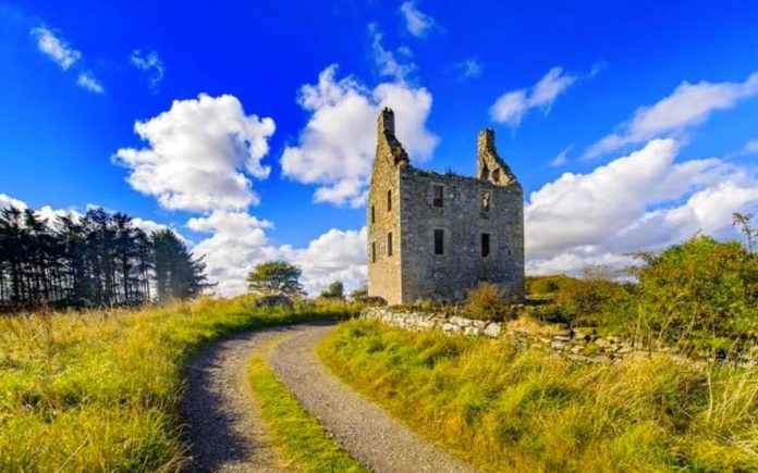 A Castle for £130k – Knockhall Castle, Newburgh, Aberdeenshire, Scotland, AB41 6AD, United Kingdom – For sale for £130,000 ($168,000, €143,000 or درهم616,000) through Savills – In need of complete renovation and currently a roofless shell.