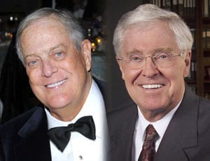 Heroes of the Hour: The Koch brothers