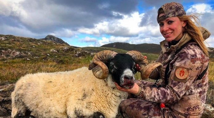 Moron of the Moment – Goat and sheep shooter Larysa Switylik – Goat, peacock and sheep killer Larysa Switylik is an evil, disgrace; she even posed next to one of her 'victims' with a sex toy.