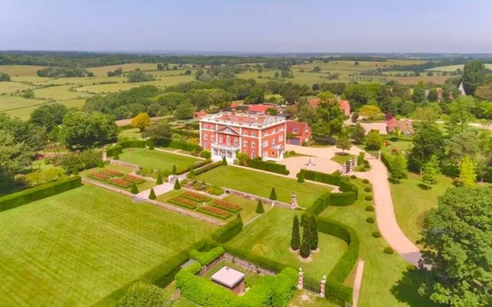 Lavish Leasam – £9.5 million ($12.2 million, €11.1 million or درهم44.8 million) for Leasam House, Leasam Lane, Playden, Rye, East Sussex, TN31 7UE, United Kingdom through agents Savills – Vast Georgian mansion close to the East Sussex coast with garaging for nineteen cars for sale for just under £10 million.
