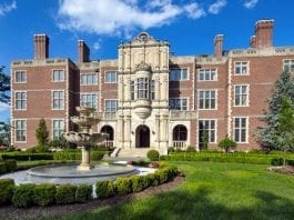 Living Large – Crocker Mansion or Darlington, Mahwah, Bergen County, New Jersey, NJ 07430, United States of America – Built by George Crocker and currently owned by Ilija Pavlovic – For sale for £37.4 million ($48 million, €44.7 million or درهم176.3 million) through Special Properties Real Estate Services – an affiliate of Christie's International Real Estate