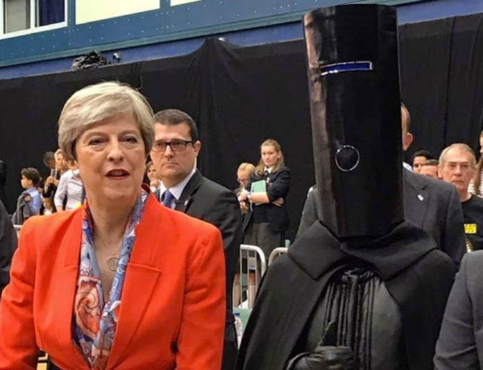 Backing Buckethead – The Steeple Times endorses Lord Buckethead – The only candidate 'The Steeple Times' can enthusiastically endorse in the European elections is Lord Buckethead.