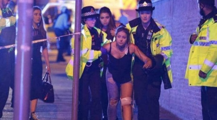 Manchester terror attack, Monday 22nd May 2017