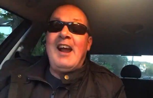 Mark McGowan (AKA The Artist Taxi Driver and Chunky Mark) – London based Mark McGowan is better known as 'The Artist Taxi Driver.' He shares his daily rants on YouTube about political parties and injustice.