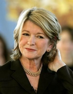 If you can't take the heat… Jailbird billionaire Martha Stewart bizarrely suggests nobody except murderers should be in jail on the Katie Couric Podcast.
