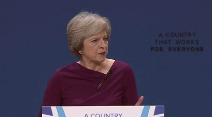Mild May – Theresa May Conservative Party 2016 conference speech