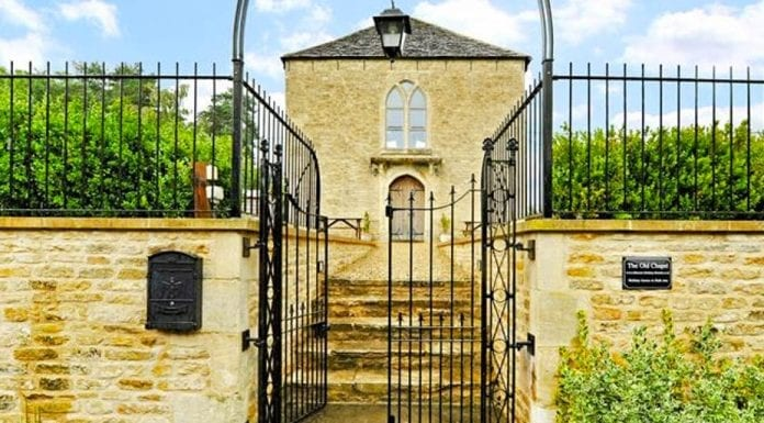 Living on a Prayer – The Old Chapel, Chapel Hill, Lacock, Chippenham, Wiltshire, SN15 2LA – For sale through Hamptons for £600,000