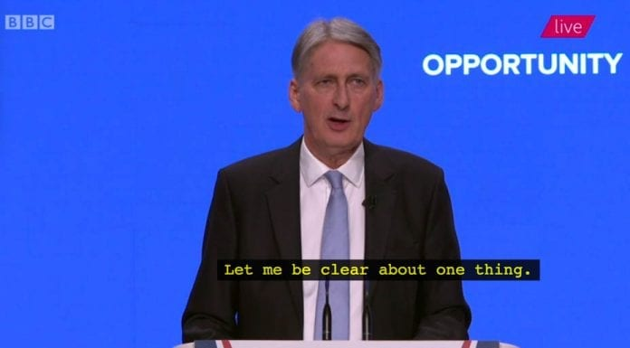"""Lost Opportunities – Philip Hammond's lost an """"opportunity"""" with his speech to the Tory Party Conference but Jacob Rees-Mogg simply got snapped with a body snatcher"""