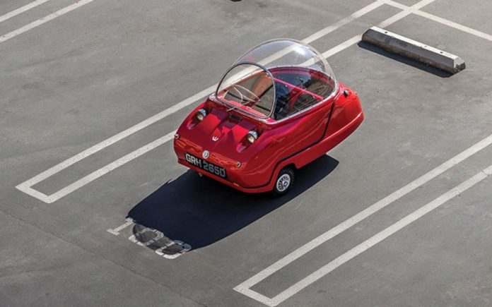 """A Pint-Sized Peel – """"World's smallest two seater"""" to be auctioned – 1965 Peel Trident – To be sold by RM Sotheby's at their Monterey, California sale with no reserve but expected to achieve upwards of £80,000 ($103,000, €92,000 or درهم379,000) – 18th to 19th August 2017"""
