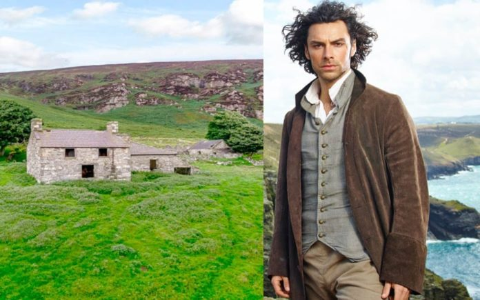 A Poldark-esque Pad – Ty Uchaf, Nant Gwrtheyrn, Llithfaen, Pwllheli, Gwynedd, Wales, United Kingdom, LL53 6HL, Wales – For sale for £750,000 ($963,000, €840,000 or درهم3.5 million) through Carter Jonas – Welsh coastal farm with beach and derelict quarry for sale for just £750,000; its environs were home to an alleged spy in WW2.