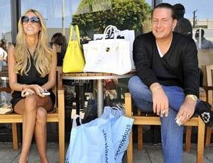 Petra Stunt with her husband James Stunt