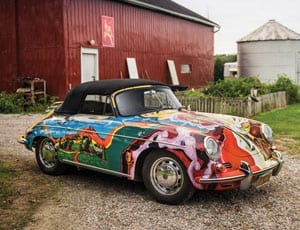 Results of Driven by Disruption – RM Sotheby's – 10th December 2015 – New York, America – Janis Joplin Porsche rockets and sells for $1.6 million