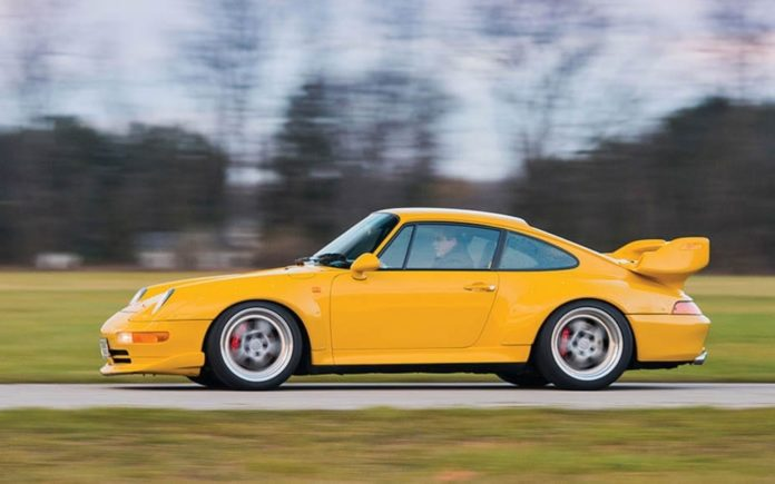 Clocking a Porsche – 1993 Porsche 911 Carrera RSR with 6.2 miles on the clock to be auctioned by RM Sotheby's at their Villa Erba sale on Saturday 27th May 2017 – £1.7 million to £1.9 million ($2.2 million to $2.4 million, €2 million to €2.2 million or درهم8 million to درهم8.8 million)