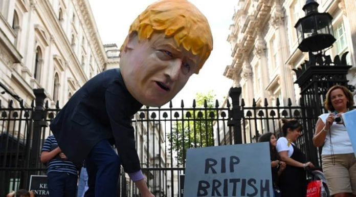 Bog Off Brazen Boris – Boris Johnson is wrong to prorogue Parliament – Matthew Steeples suggests Boris Johnson proroguing parliament is an outrage; he comes out in support of the High Court challenge by Gina Miller – who is elsewhere backed by James Stunt.