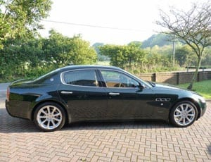 Going like a Rocket Man - The ex-Sir Elton John 2005 Maserati Quattroporte