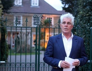 Selling Clifford – Max Clifford – 10 Onslow Road, Burwood Park, Hersham, Walton-on-Thames, near Weybridge, Surrey, KT12 5BB – Max Clifford house
