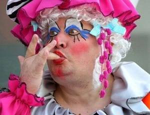 Sheer lunacy - Dame Jon Dixon, The Official Monster Raving Loony Party candidate for Hove and Portslade