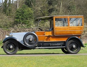 A royal smuggler - 1923 Rolls-Royce Silver Ghost shooting brake
