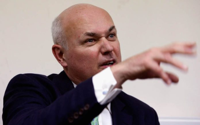 Revoke The Quiet Knight – Block Iain Duncan Smith's knighthood – 'The Steeple Times' urges readers to join the 180,000 people who've signed a petition demanding Iain Duncan Smith not be knighted.