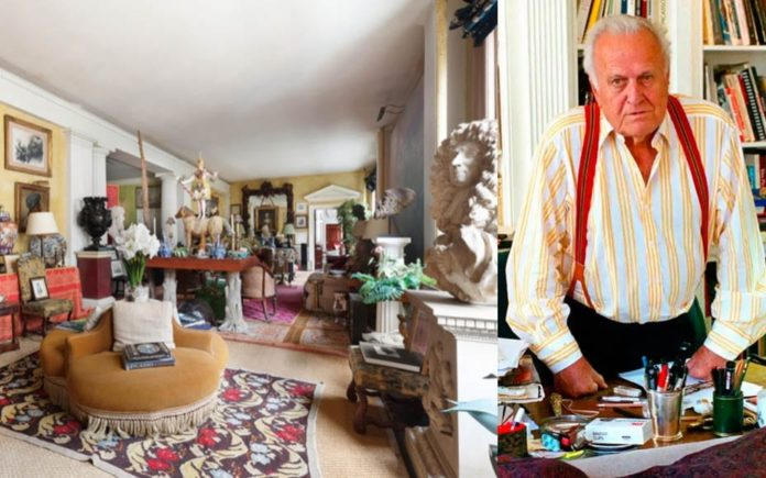 "A Manhattan Mash-Up – ""Baronial"" bachelor pad-esque Manhattan loft that belonged to the late Picasso biographer Sir John Richardson KBE (1924 – 2019) for sale – Unit 7FL, 73 5th Ave Flatiron, Manhattan, New York, NY 10003, United States of America – For sale for £5.6 million ($7.2 million, €6.5 million or درهم26.4 million) through Jeffrey Stockwell of Compass."